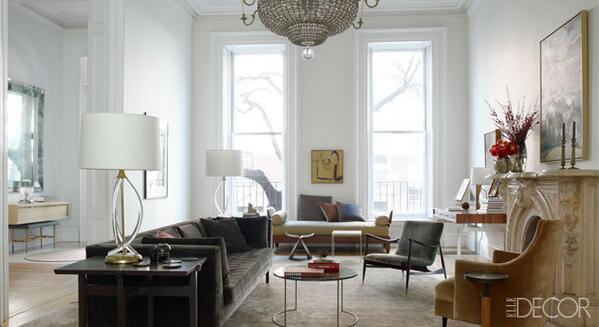 ELLE Decor On Twitter Home Tour A Brooklyn Townhouse Designed