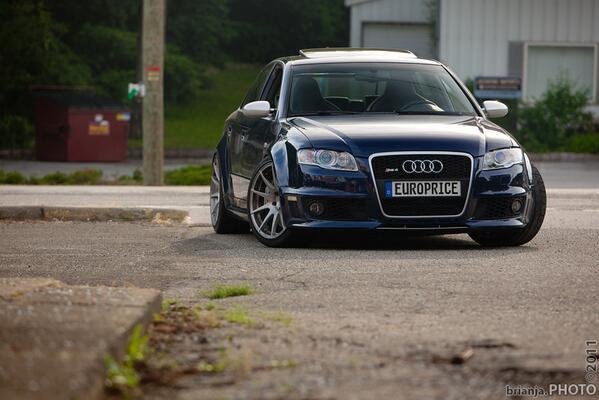 Audi Rs4 B7 White