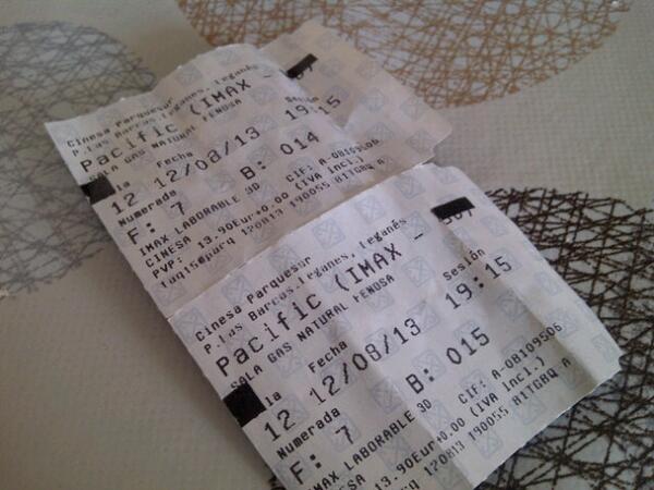 entradas para Pacific Rim en IMAX 3D