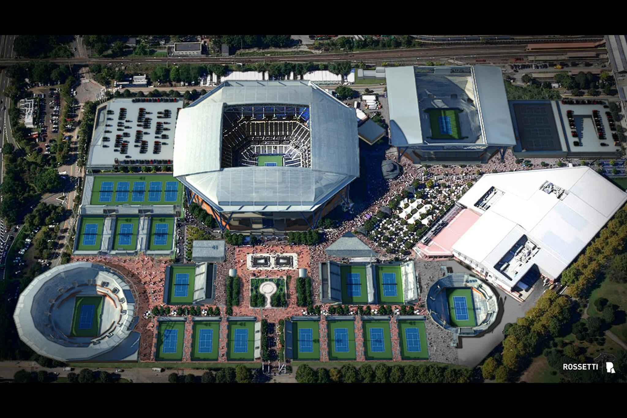 Us Open Tennis On Twitter Quot Aerial View Of The Historic
