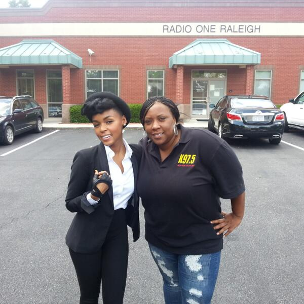 Big shouts to @JanelleMonae  for coming thru to the @k975  studio today...#TheElectricLady instores Sept.10th http://t.co/KIPwqPb0Mh