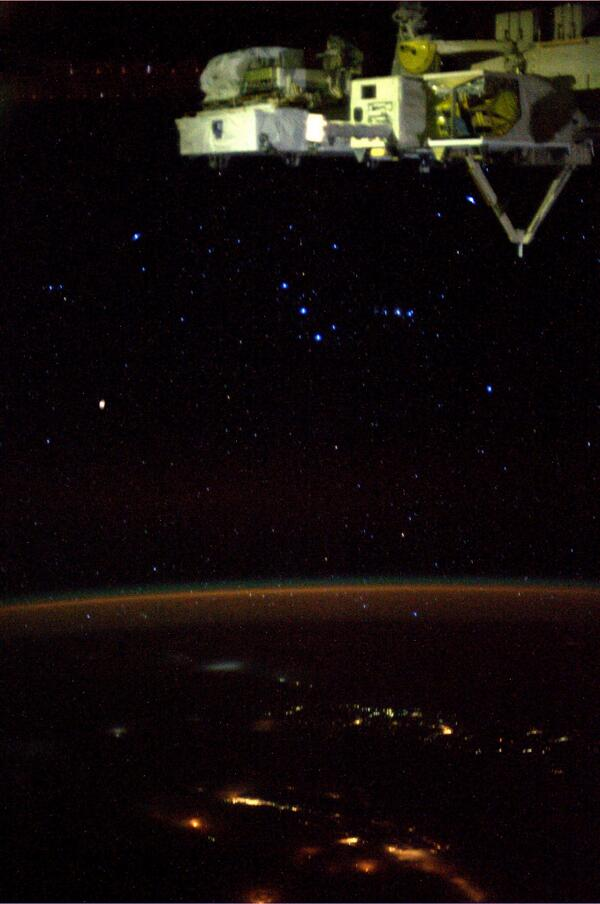 Astronauts Capture, Tweet Constellations from Space Station
