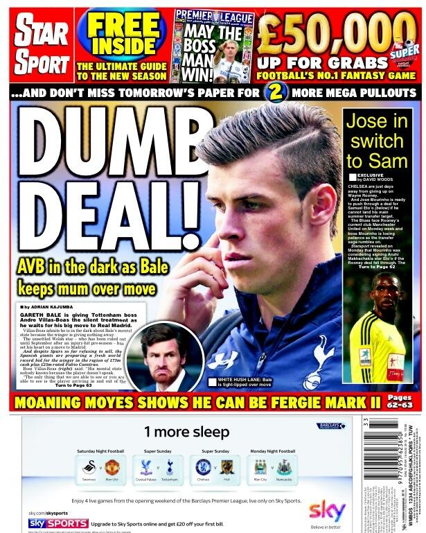 Silent Bale may have played his last Tottenham game as he looks to force £80m Madrid move [Friday Papers]