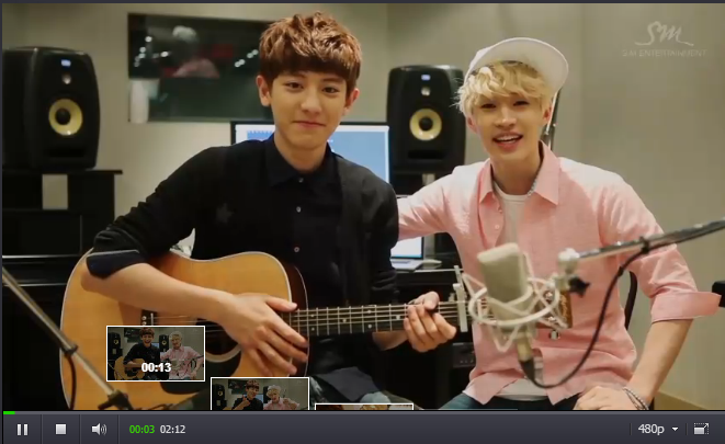 Screencap - Henry and Chanyeol introduction. http://t.co/nXZbnJYfFw