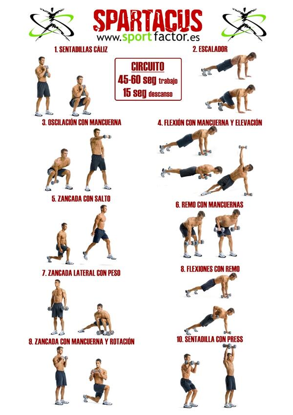 Circuitos aerobicos para bajar de peso