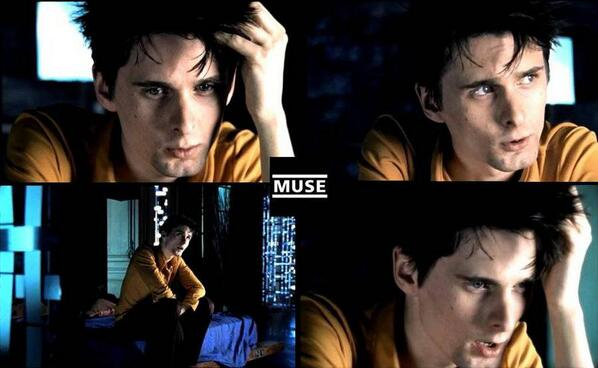 """""""@Hysteriaxly: Matt Bellamy :Fuck, what's my passeword of twitter? I can't remember this http://t.co/cdtm488f44""""  Brilliant comment :-)"""