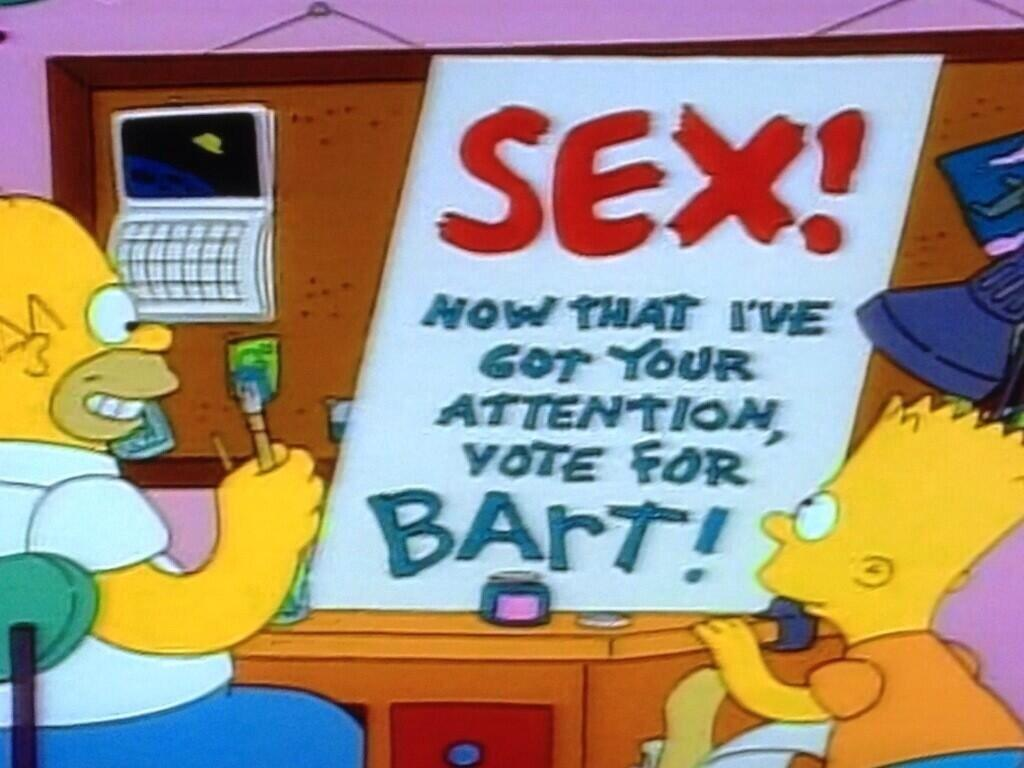 Infinitely possible Bart simpsons sex quite