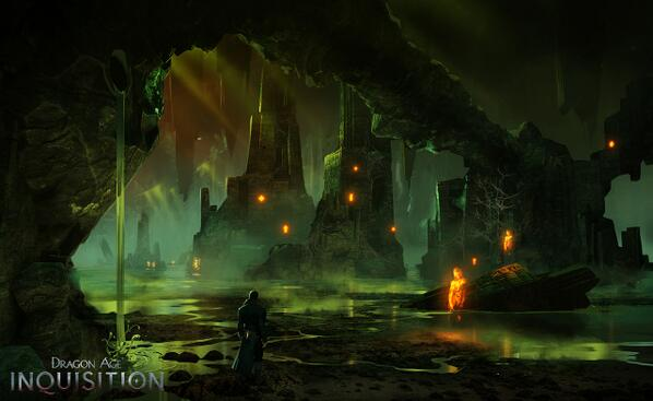 Through a breach in the sky, the brave now walk where once we feared to dream. #DAI http://t.co/7XImNntfvG