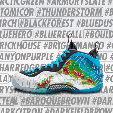 top fashion 9bdf0 39275  RSVP is now open for the Air Foamposite One Premium. Hashtag is circled in  this image http   gonike.me 6013nEud pic.twitter.com I6f21GuVl6