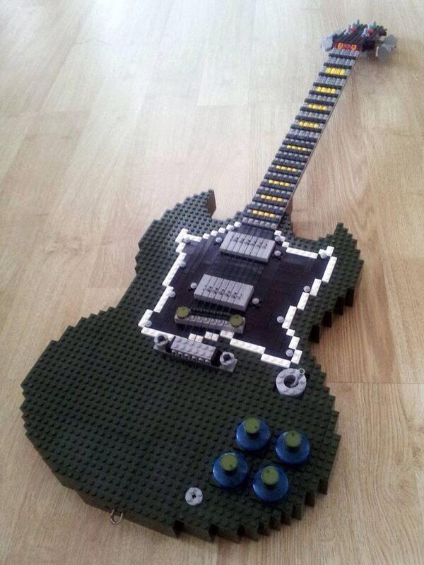 レゴブロックでSG作ったヤツがいるらしい。
