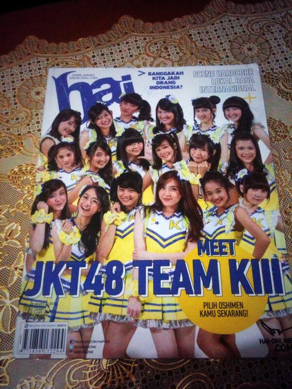 majalah hai edisi jkt48