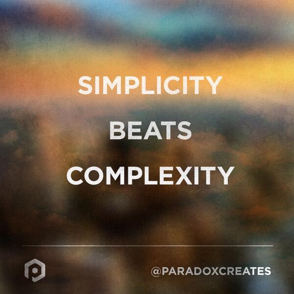 Resultado de imagen de simplicity beats