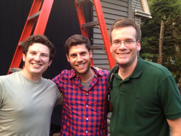 That's a wrap on week 1 of #TFIOSmovie! @klausner @realjohngreen http://twitter.com/thisisweber/status/373589179306745856/photo/1