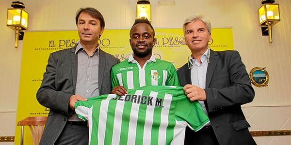 Real Betis winger Cedrick, who skinned Sergio Ramos, cost €1.20   1 Euro & 20 Cents!!!