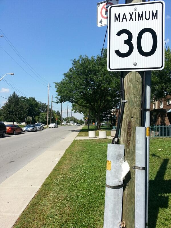 30 km/h speed limit in Hamilton's North End (RTH file photo)