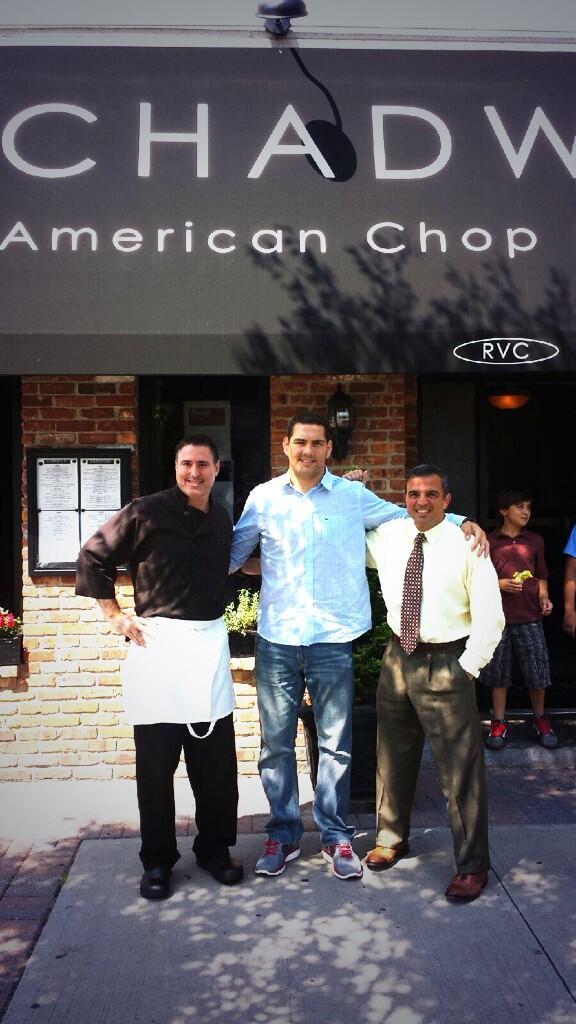 Chadwicks Chop House On Twitter Chef Art Gustafson Chadwicksli With Chrisweidmanufc And Rockvillecentre Attorney Mike Dergarabedian Http T Co Q32tmyrhvg