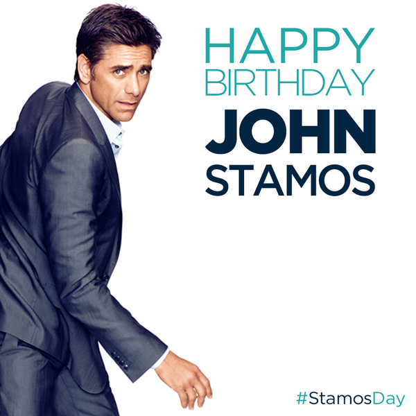 Have Mercy! Happy Birthday @JohnStamos! Celebrate #StamosDay by RT-ing & supporting @dosomething! http://t.co/GRxUrJjPbQ