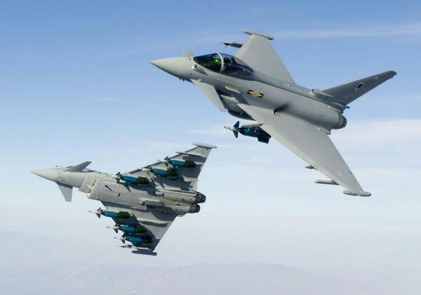 ユーロファイター タイフーン(Eurofighter Typhoon)…イギリス...