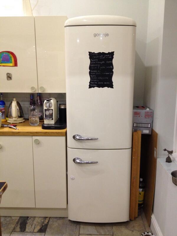 vic readymoney on twitter cream retro gorenje fridge. Black Bedroom Furniture Sets. Home Design Ideas