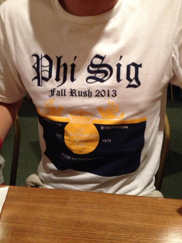 phi sigma kappa gear