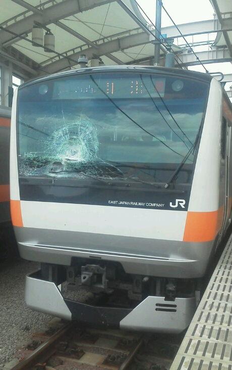 武蔵小金井駅人身事故の当該列車、H57編成は東小金井から回送扱いに