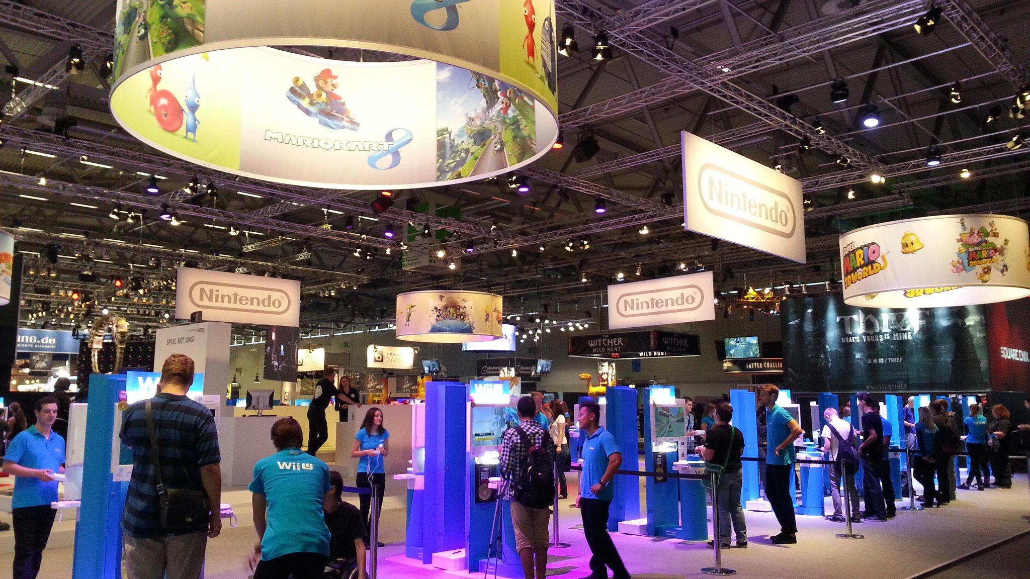 Nintendo en la Gamescom 2013