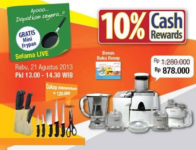 Lejel Home Shopping On Twitter Promo Hari Ini Kitchen Cook Mixer Juicer Jangan Sampai Kelewatan Http T Co L4puegagra