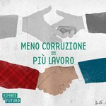 Twitter / riparteilfuturo: Meno #corruzione = Più #lavoro. ...