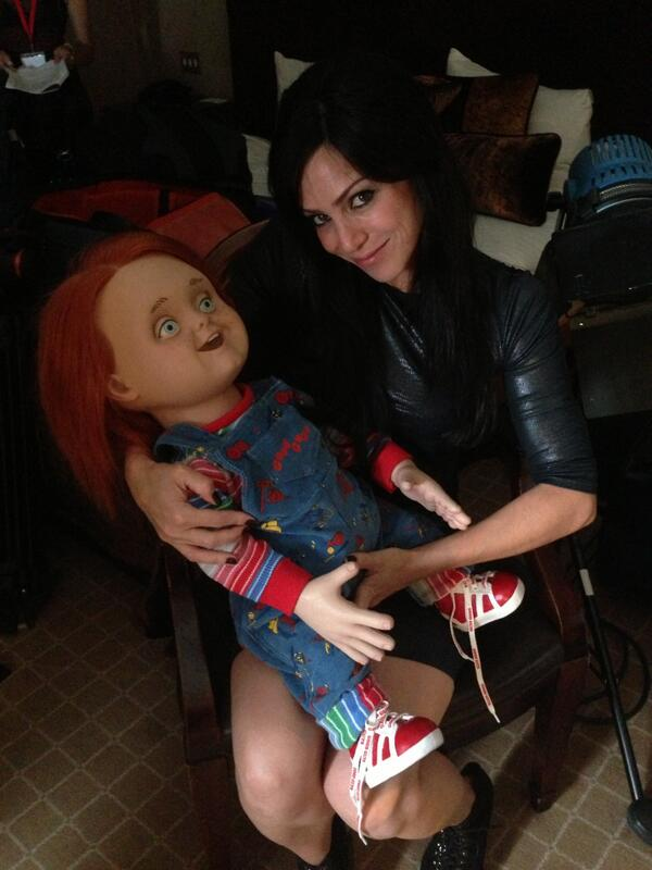Emily Booth On Twitter Frightfest Has Begun Even With Chunky I Feel Maternal Brilliant Interview Don