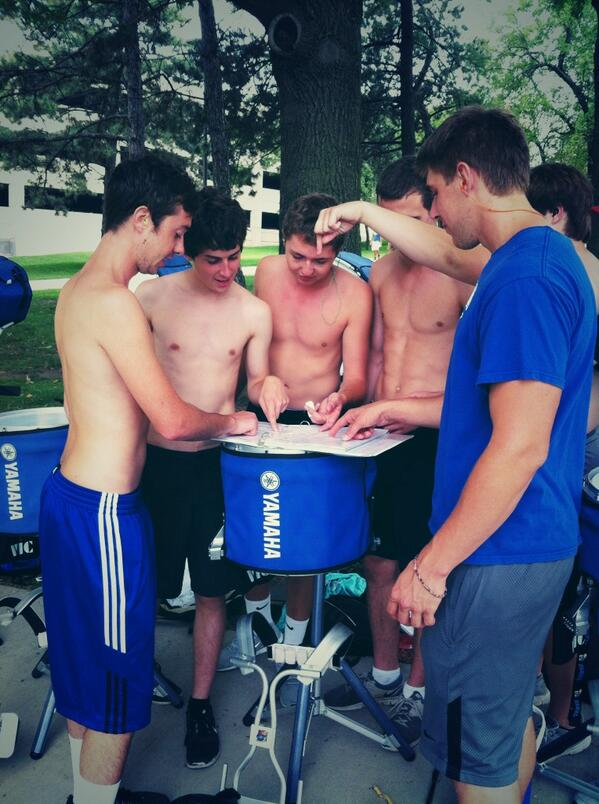 RT @KUDrumline: Sorting out the