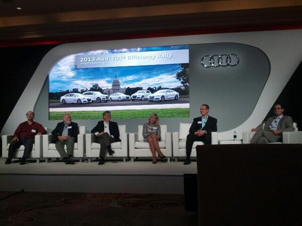 @Audi  #AudiTDI Discussion panel answering questions. http://t.co/PKjqOAIto5