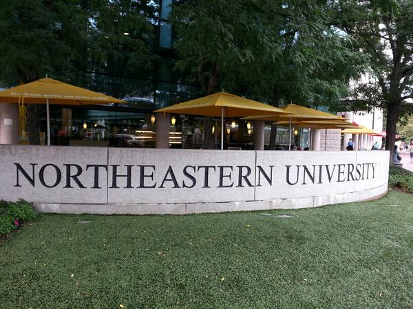 That would be EVERY day! MT @nusmithkennedy:A beautiful day to be a Husky! #getexcited #northeastern #isitmoveinyet