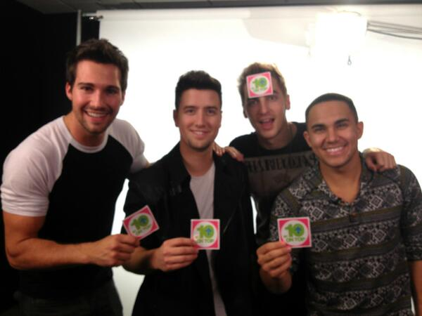 Catch the @BigTimeRush guys on #10onTop this Saturday 8/24 at 12:30/11:30c! http://t.co/qXeGz49CN4