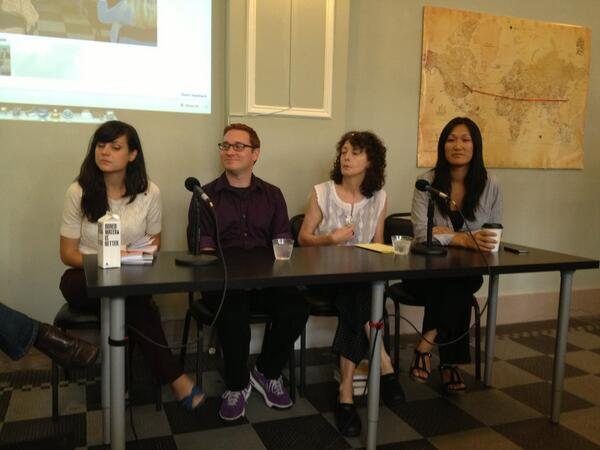 Our panel, ready to share their wisdom #CreativeEdMI http://twitter.com/rapidgrowth/status/370667695080873985/photo/1