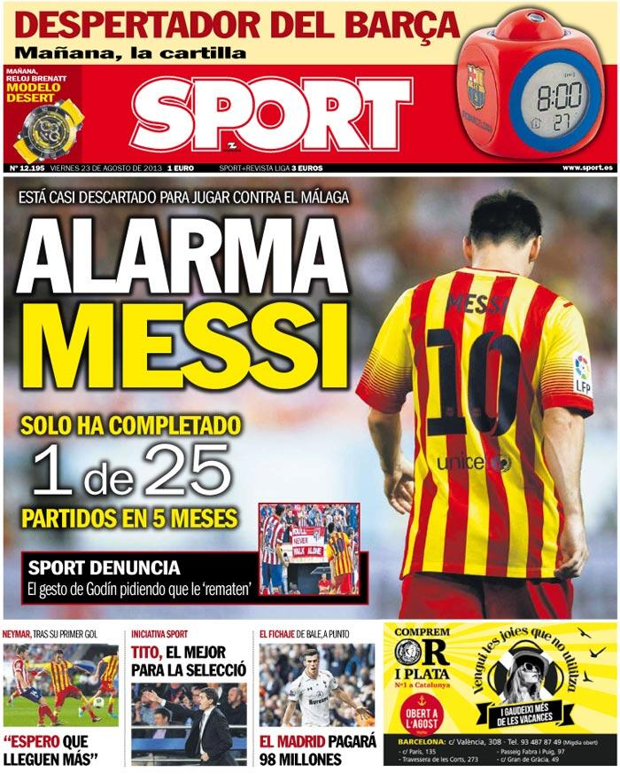 """Diario SPORT on Twitter: """"¡Buenas noches a tod@s!. Leo ..."""
