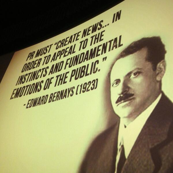 Storytelling and creating the narrative has always been a part of PR #smcdallas http://t.co/98AYOexima