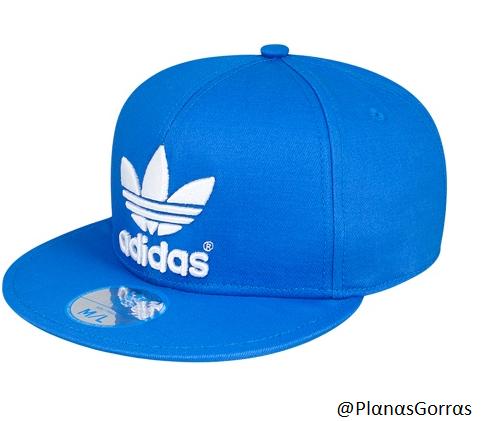 a500b06987f2c Gorras Adidas Planas Azules amorenomk.es
