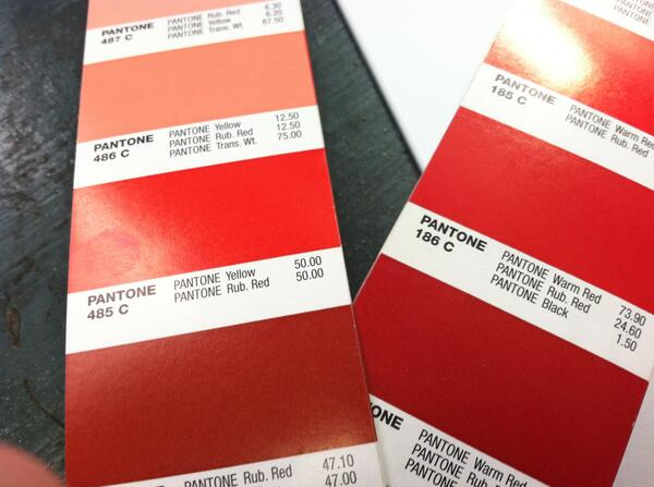 Theo Davis Printing On Twitter Quot Pantone Color Of The Day