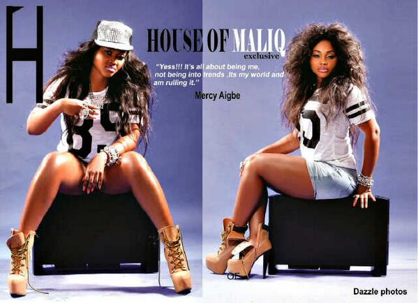 Mercy Aigbe Covers House Maliq Magazine