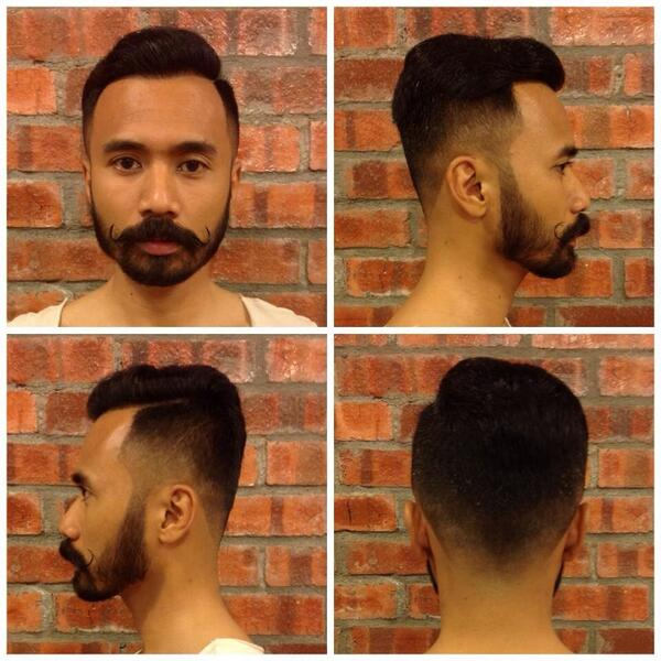 Uppercut Hairstyle