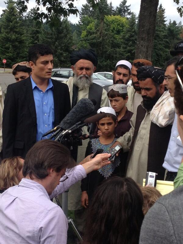 Afghan witnesses after #bales sentencing.. Statement then maybe questions.. http://t.co/WcXZBooKTq