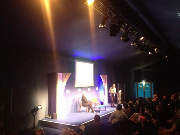 History of comics with @paul_gravett, chaired by @davidbishop at @StrippedFest #edbookfest #strippedbookfest http://twitter.com/edbookfest/status/370939742302392320/photo/1