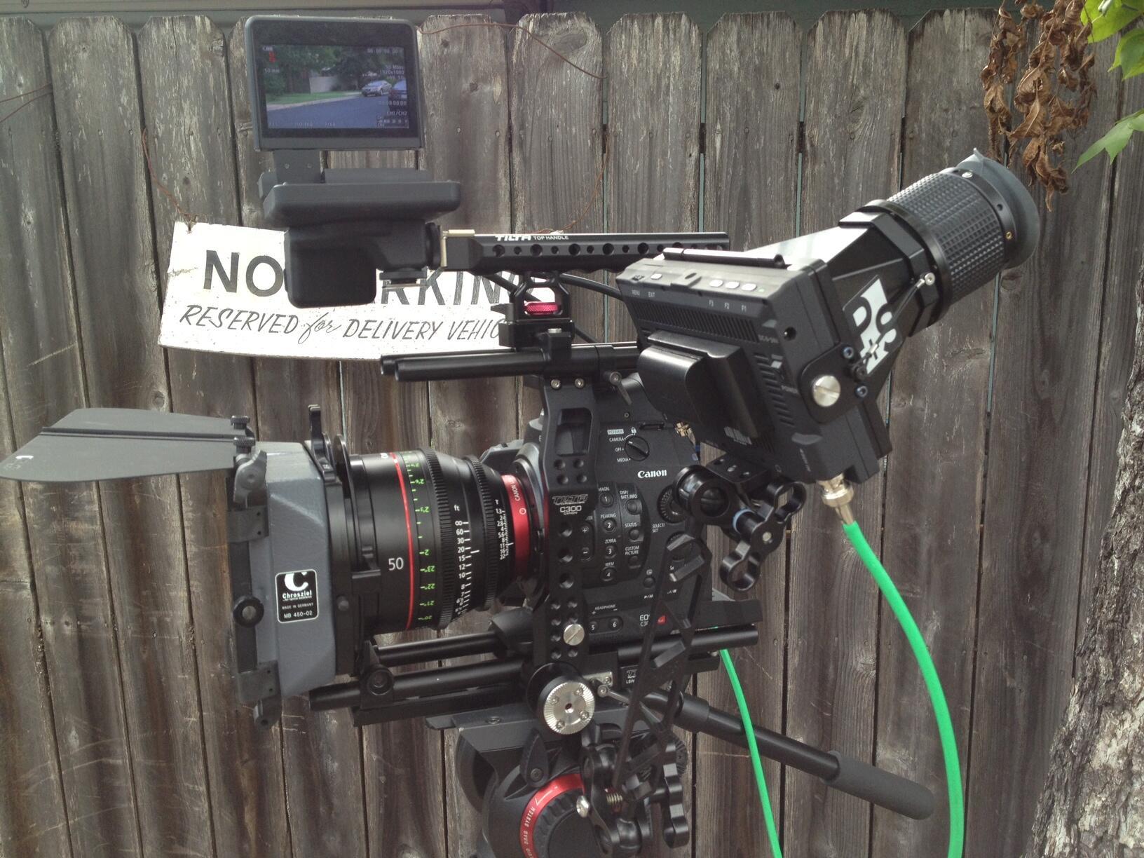 Twitter / txmedia: Canon C300 w Cinema Prime, ...