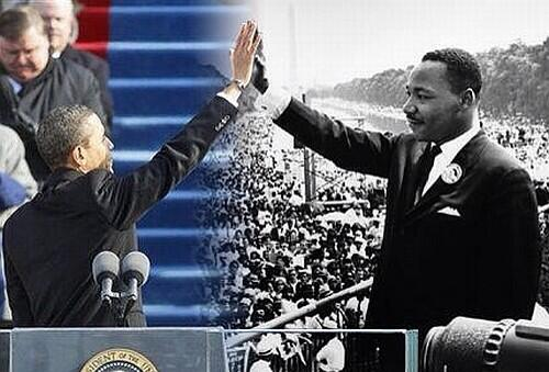 #IThankGodFor #MLK & #Obama for dreaming the #dream & helping to keep it alive.  #MarchOnWashington #MOW #MOW50 #p2 http://twitter.com/ericwolfson/status/371226477640962048/photo/1