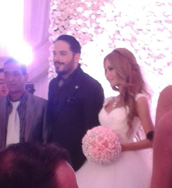 BScxKRICYAAibrB صور حفل زفاف رامى عياش   صور فرح رامى عياش على مصممة الأزياء داليدا سعيد