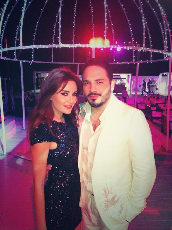 BSd1M3GIAAAbRWv صور حفل زفاف رامى عياش   صور فرح رامى عياش على مصممة الأزياء داليدا سعيد
