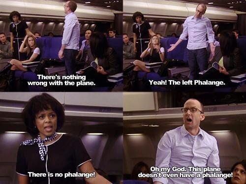 Image result for there's something wrong with the left phalange