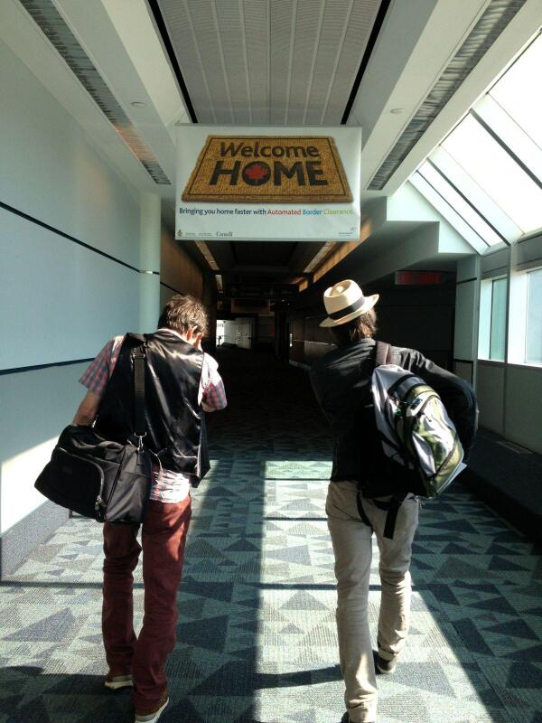 Paul and Tommy just landed in Toronto bit.ly/14tcLqb #thereplacements http://twitter.com/slicingeyeballs/status/371405337821081600/photo/1