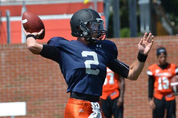 And another from scrimmage action #goCamels http://twitter.com/GoCamelsFB/status/371365955265261568/photo/1
