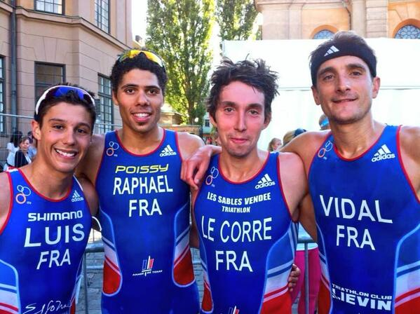 The A-team in Stockholm. 4th,5th,8th & 9th. #teamFrance #wtsstockholm / l'agence tout risque. 4,5,8,9. http://twitter.com/laurentvidal/status/371679918205464578/photo/1